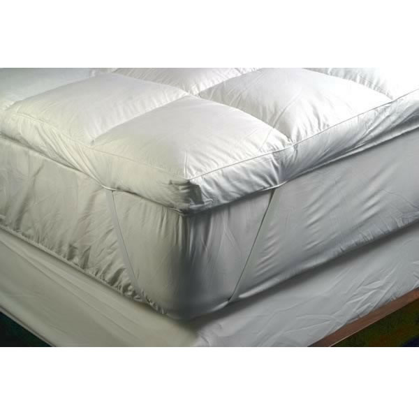irish dreams goose feather u0026 down mattress topper double 140 x 190cm click to enlarge