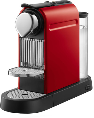 Krups Coffee Maker Red : Krups Citiz Nespresso Coffee Maker - Red shoplinens.ie