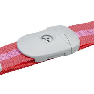 Go Travel The Lockstrap (40mm) - Pink