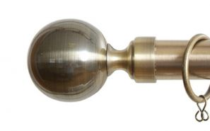 28mm Vista Antique Brass Rod Set 300cm