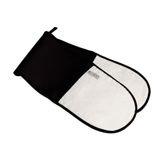 Le Creuset Double Oven Glove - Black