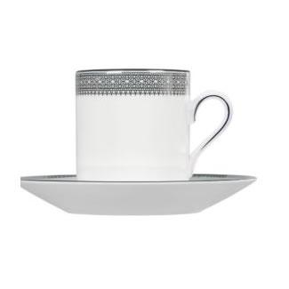 Vera Wang Lace Platinum Coffee Saucer
