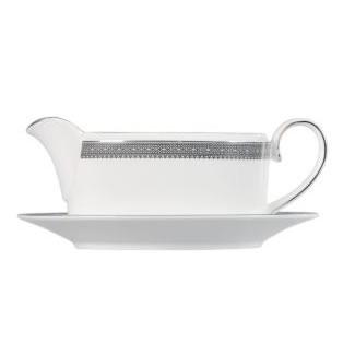 Vera Wang Lace Platinum Sauceboat Stand