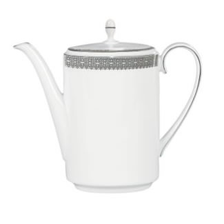 Vera Wang Lace Platinum Coffee Pot
