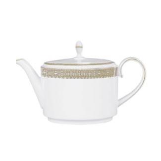 Vera Wang Lace Gold Teapot