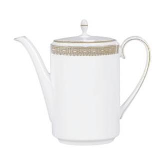 Vera Wang Lace Gold Coffee Pot
