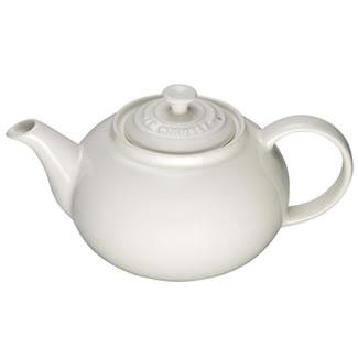 New Le Creuset Classic Teapot - Almond
