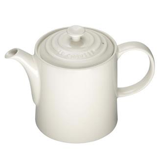 New Le Creuset Grand Teapot - Almond