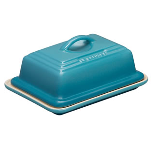 Le Creuset Butter Dish - Teal