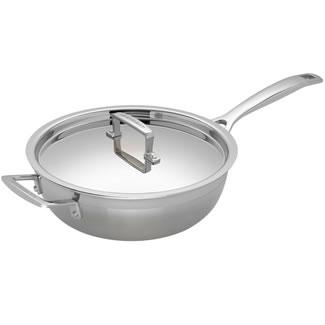 Le Creuset 3PLY 24CM Chef's Pan & Lid - Non Stick