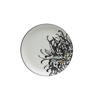 Denby Monsoon Chrysanthemum Salad Plate Cream