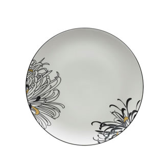 Denby Monsoon Chrysanthemum Dinner Plate