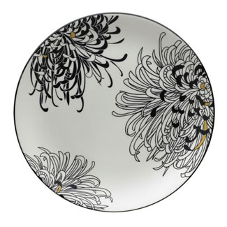 Denby Monsoon Chrysanthemum Round Platter