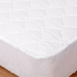 Elainer 100% Cotton Quilted Mattress Protector - Double 137 x 191 x 33cm