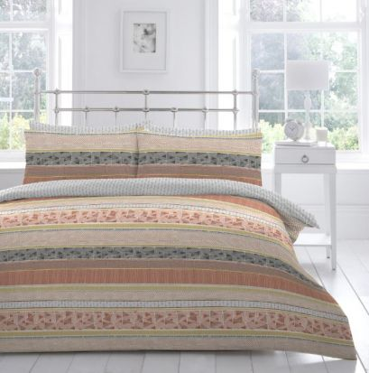 Appletree Desert Stripe Duvet Cover Set - Single