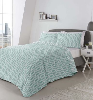Appletree Jax Mint Duvet Cover Set - Single