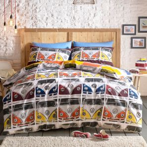 Ashley Wilde Volkswagen VDUB Duvet Cover Set Double