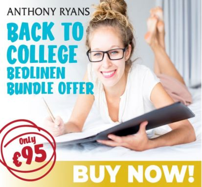 Back to College Bedlinen Bundle Offer