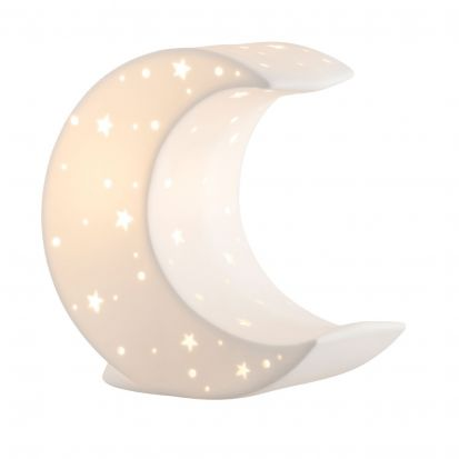Belleek Crescent Moon Luminaire