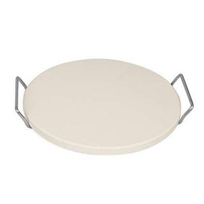 Berndes 33cm Round Pizza Stone & Rack