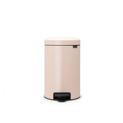 Brabantia Newicon 12-Litre Pedal Bin Soft Closing - Clay Pink