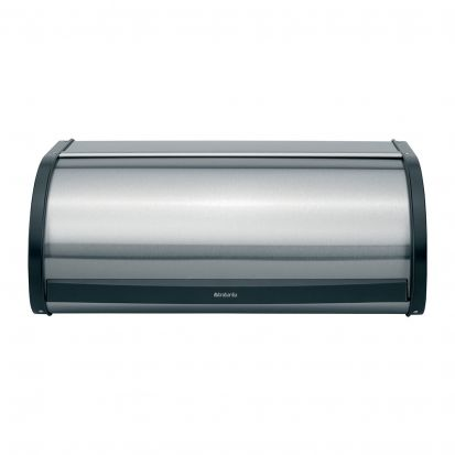 Brabantia Roll Top Bread Bin - Matt Steet