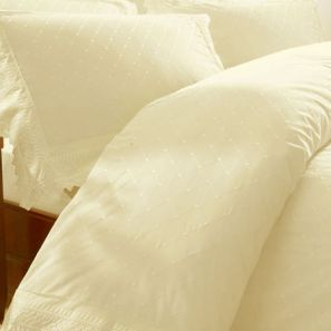 Broderie Balmoral Cream Duvet Cover Set Superking