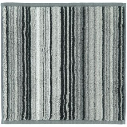 Cawo Two-Tone Multistripe Face Cloth