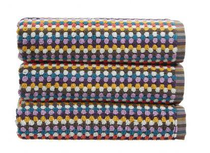 Christy Carnaby Stripe Bath Sheet - Multi