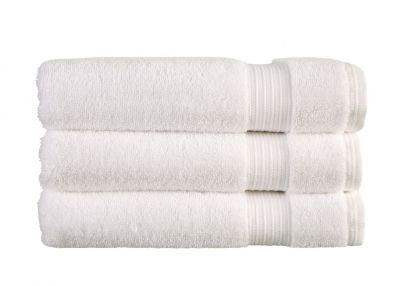 Christy Sanctuary White Bath Towel