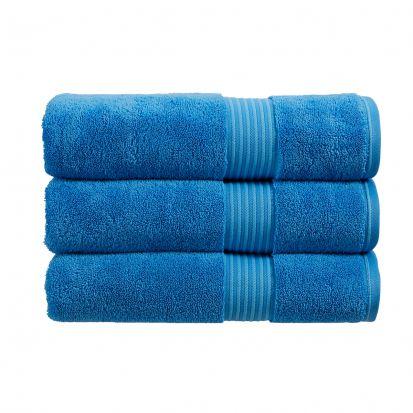 Christy Supreme Hygro Towelling Bath Mat - Cadet Blue