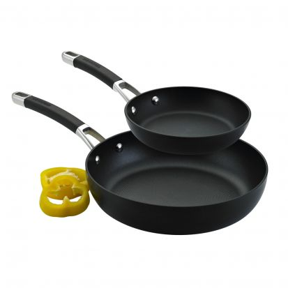 Circulon Momentum Hard Anodised Frypan Twin Pack 22cm & 25cm