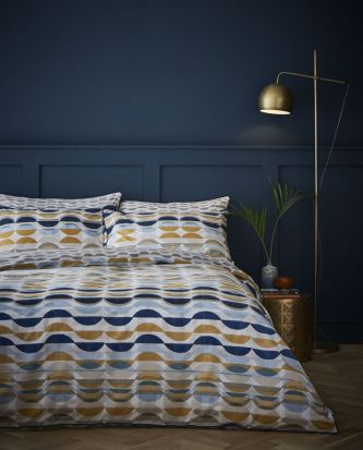 Content by Conran Eclipse Ochre Duvet Cover Set - Double