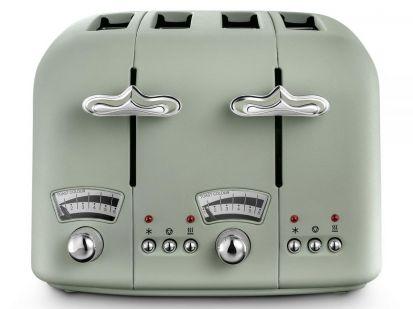 Delonghi Argento Flora 4-Slice Toaster - Green