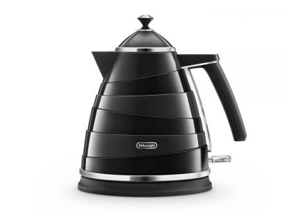 Delonghi Avvolta Electric Kettle Black