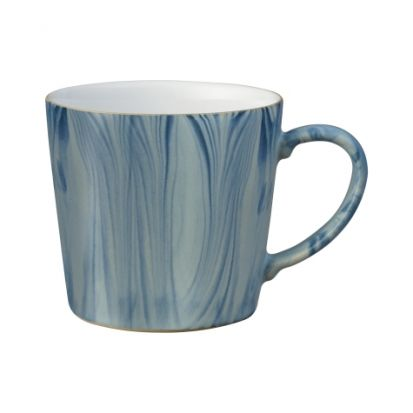 Denby Blue Marbled Large Handcrafted Mug