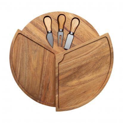 Denby James Martin 4 Piece Cheese Board Set