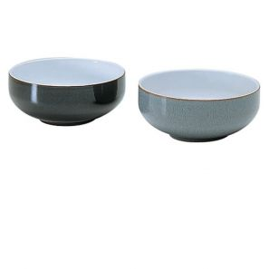 Denby Jet Grey Soup / Cereal Bowl
