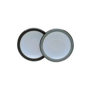 Denby Jet Grey Tea Plate