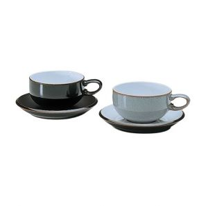 Denby Jet Grey Tea/Coffee Cup