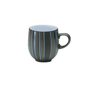 Denby Jet Stripes Large Curve Mug