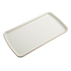 Denby Linen Rectangular Plate