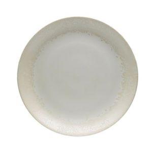 Denby Monsoon Lucille Gold Round Platter