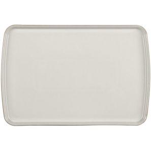 Denby Natural Canvas Large Rectangular Platter
