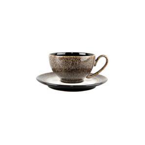 Denby Praline Wide Rimmed Tea Saucer