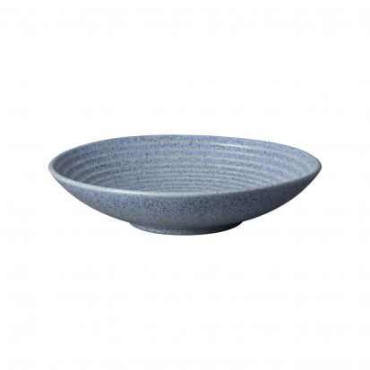 Denby Studio Blue Flint Medium Ridge Bowl