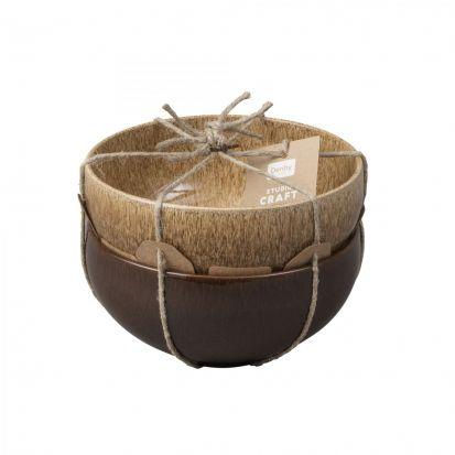Denby Studio Craft 2 Piece Large Noodle Bowl Set