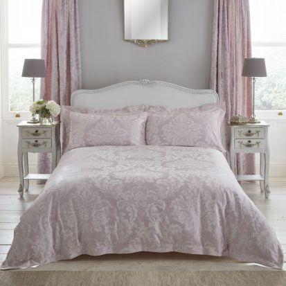 Dorma Antoinette Blush Duvet Cover - Double