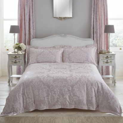 Dorma Antoinette Blush Duvet Cover - King