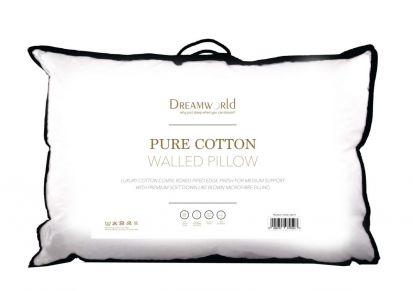 Dreamworld Pure Cotton Walled Pillow